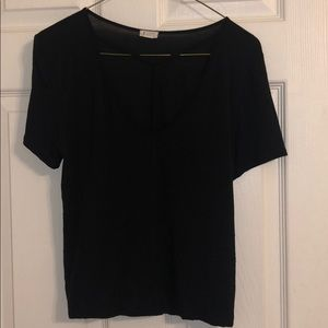 Black t-shirt from Garage. Size: small